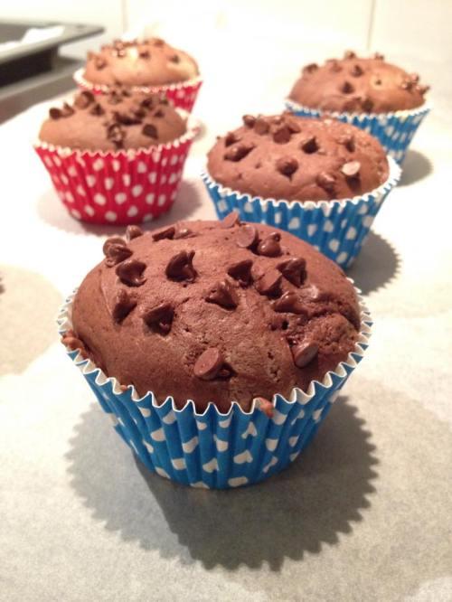i miei muffin al cacao
